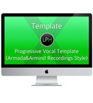 Шаблон Template: Progressive Vocal Template (Armada & Armind Recordings Style)
