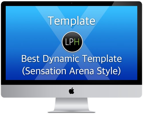 Шаблон Template: Best Dynamic Template (Sensation Arena Style)