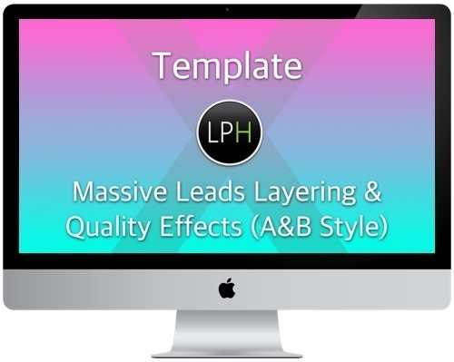 Шаблон Template: Massive Leads Layering & Quality Effects (Above & Beyond Style)