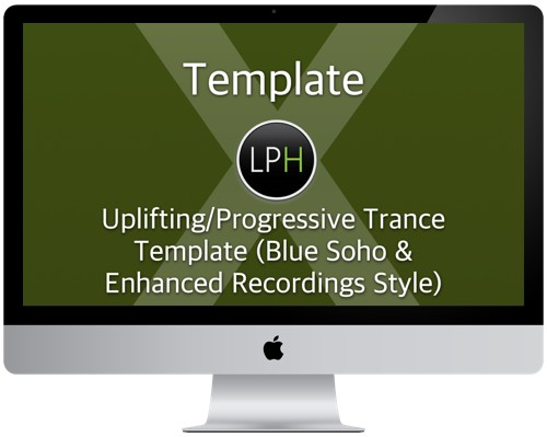 Шаблон Template: Uplifting/Progressive Trance Template (Blue Soho & Enhanced Style)